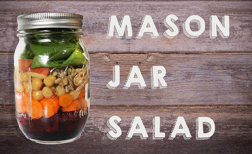 Mason Jar Salad Tutorial
